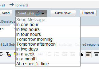 How To Schedule Emails & Delay Replies in Gmail with Boomerang (400 Invites) boomerang5