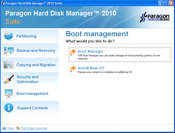Easily Create & Manage Disk Partitions with Paragon Hard Disk Manager [Giveaway] boot