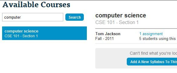 courses1   Reminder101: Cool Student Reminder Tool