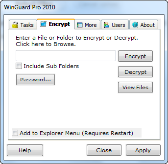 Get Easy Access Control & Security Features with WinGuard Pro encryptwgp