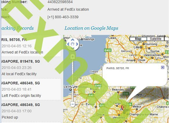 track your parcel online