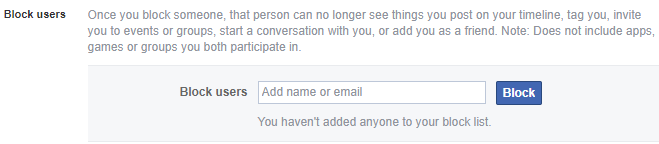 block users in facebook chat