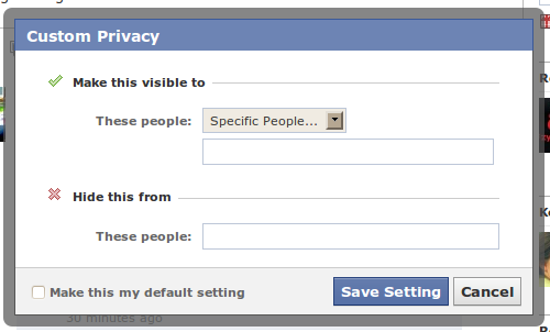 How To Protect Yourself From The Facebook Stalkers Out There facebook customprivacy