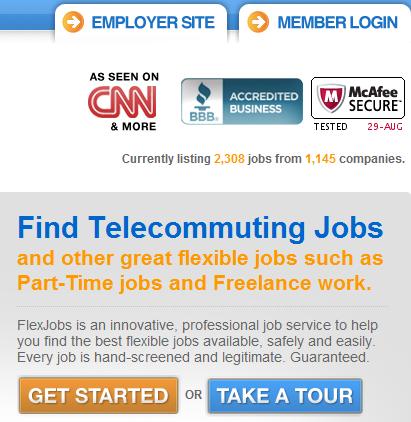 find telecommuting jobs