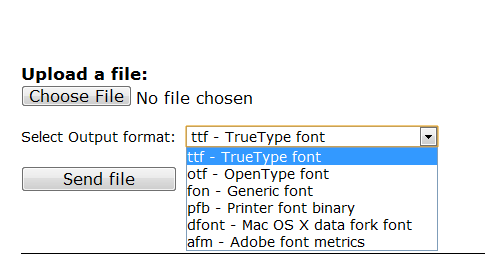 font conversion tool
