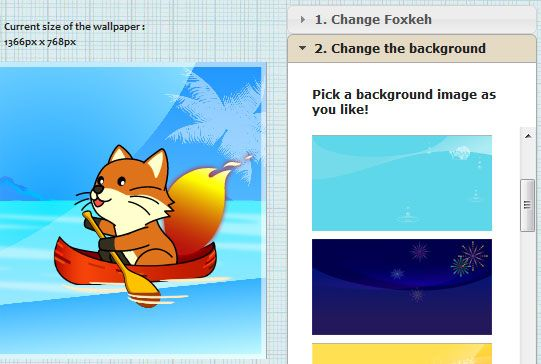 foxkeh   Foxkehs Wallpaper Creator: Create Firefox themed wallpapers for desktop & Mobile