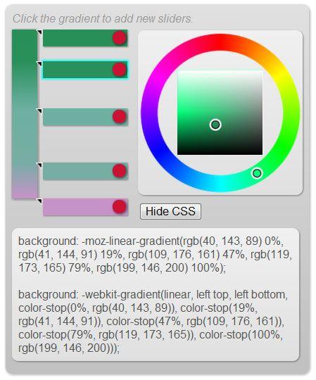 edit gradient