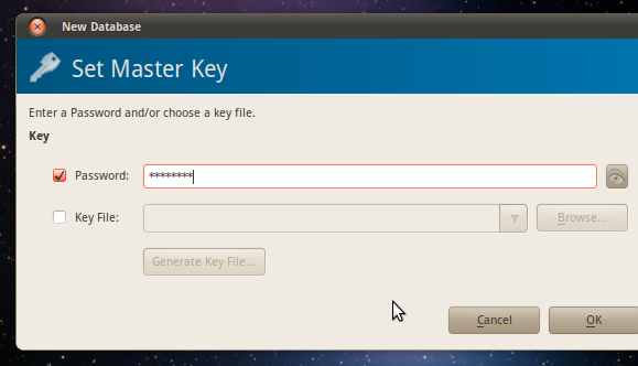 password management linux