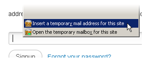 throw away email accounts