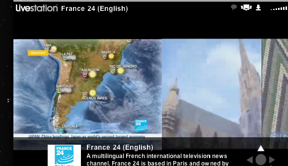 Watch Streaming Live TV News Online with Livestation livestation pictureinpicture2