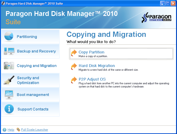 Easily Create & Manage Disk Partitions with Paragon Hard Disk Manager [Giveaway] migration