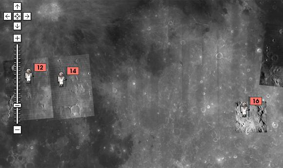 google earth explore the moon