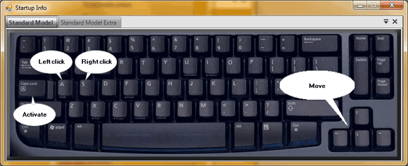 MouseFIGHTER: Control The Mouse Pointer With Keyboard Keys mousefighter3