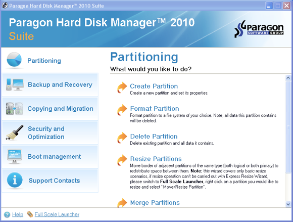 Easily Create & Manage Disk Partitions with Paragon Hard Disk Manager [Giveaway] partition