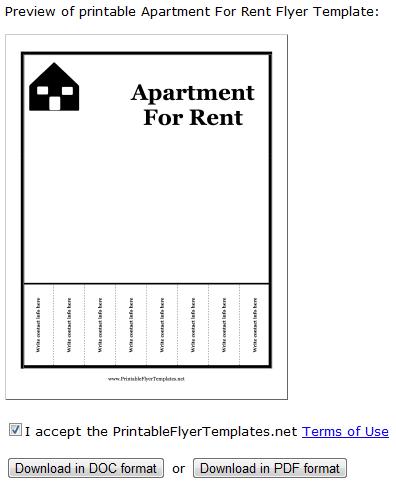 printable flyers1   PrintableFlyerTemplates: Download Free Flyer Templates