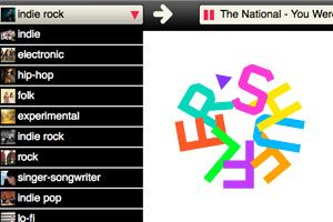 Shuffler – A Free Internet Radio Powered By Music Blogs
