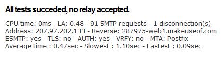 Test SMTP: Test Your SMTP Server Online smtp server2