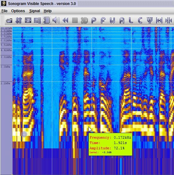 digital sound spectrogram