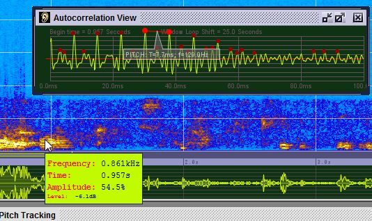 Sonogram Visible Voice - Powerful Voice Spectrogram Software sono7