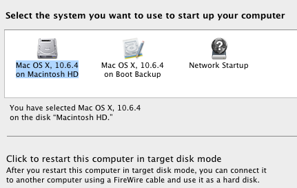15 More System Preferences Items A New Mac User Should Know About startupdisk