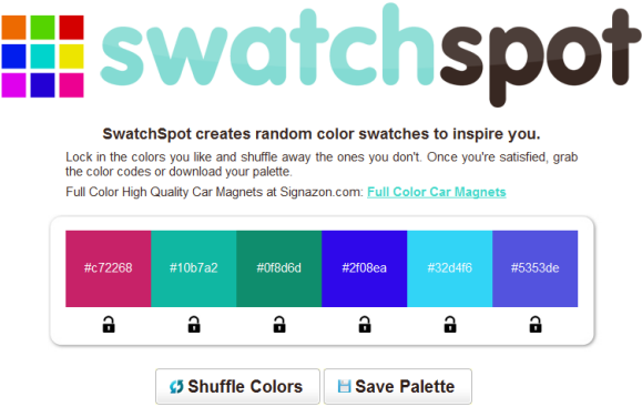 color swatch generator