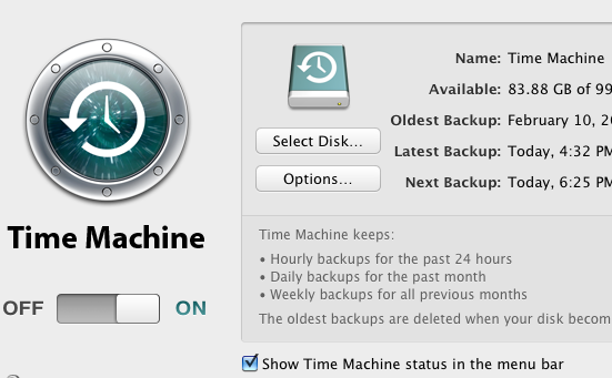 15 More System Preferences Items A New Mac User Should Know About timemachine