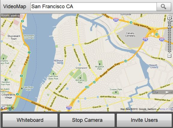 collaborate on google maps