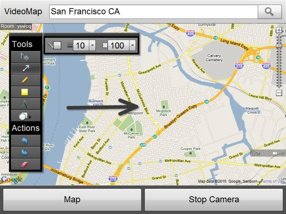 google map collaboration