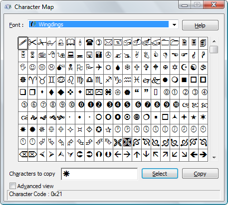 How to Edit & Enhance Screenshots in MS Paint wingdings