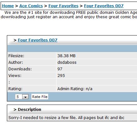classic comics downloads