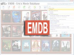 EMDB – Eric's Movie Database for All Your Video Organizing Needs (Windows)
