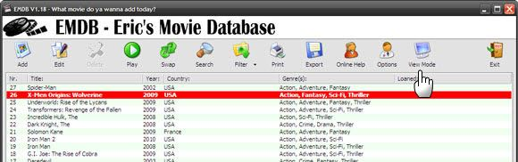 online movie databases