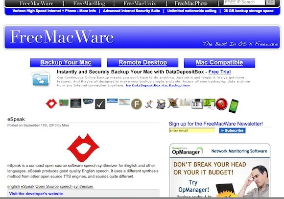 11 Online Sources For The Best In Mac Freeware [Mac] FreeMacWare