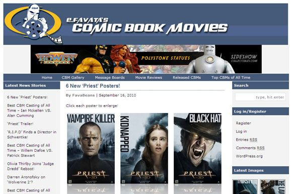 8 Websites to Get the Inside Scoop on Comic Book Movies Super hero07