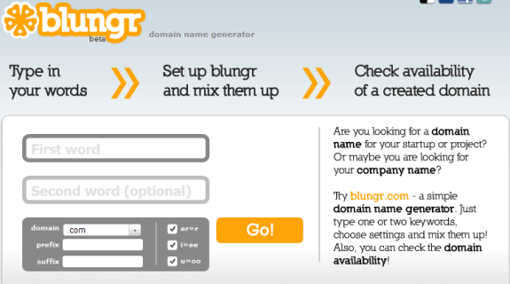 catchy domain names