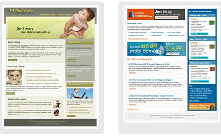 newsletter templates - Free Email Newsletter Templates