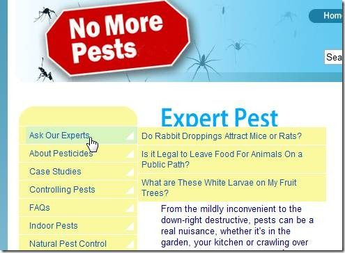 how to get rid of pests