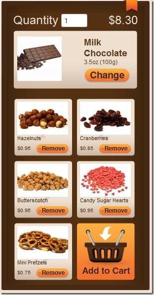 Chocomize: Create & Order Customized Chocolate Bar clip image008