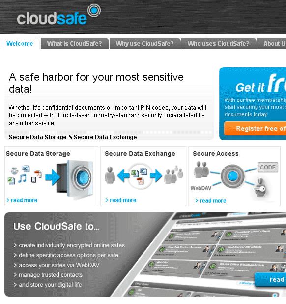 online storage safe