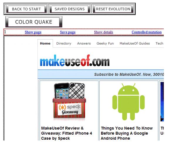 color schemes on websites