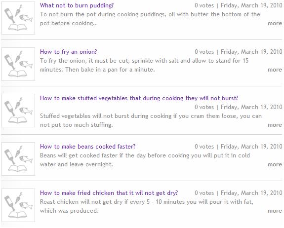 organize recipes online