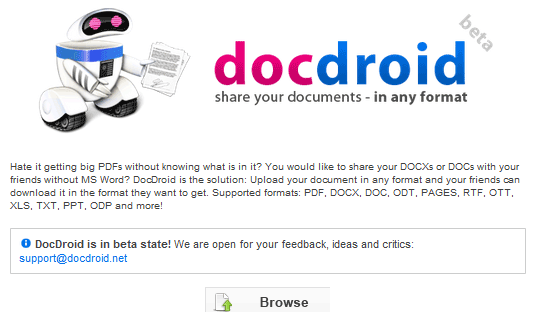 easy document sharing