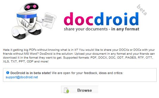 easy document sharing