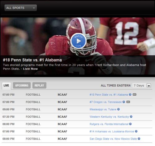 college football online