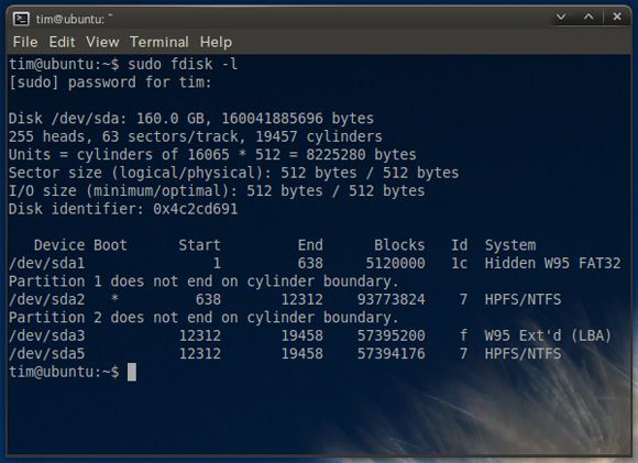 rescue ntfs filesystem from linux