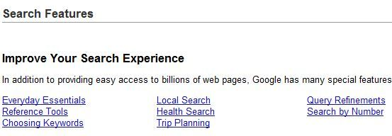 features   Google Search Features: Get The Most Out Of Google Search