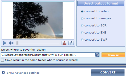 Say Goodbye to Flash Video Blues with SWF & FLV Toolbox [Giveaway] flv2