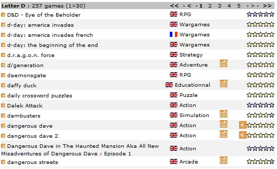 freeoldies1   FreeOldies: Extensive Old Game Database