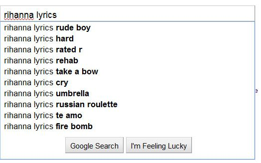 take a look at google suggest