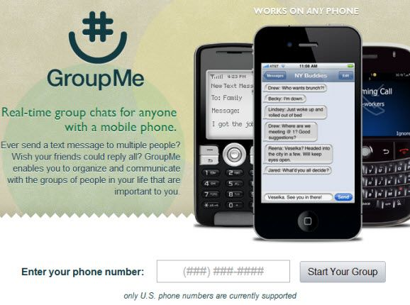 mobile group text